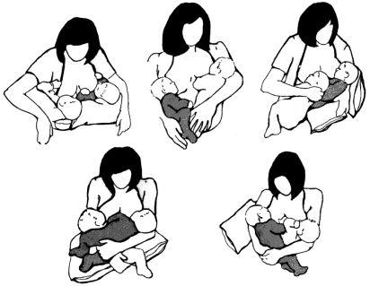 amamentação gêmeos
